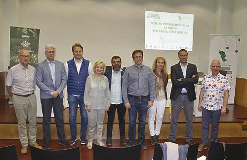 Presentació 5a edició 'Fem Xarxa, Fem Empresa'. Foto: Ajuntament Castellví