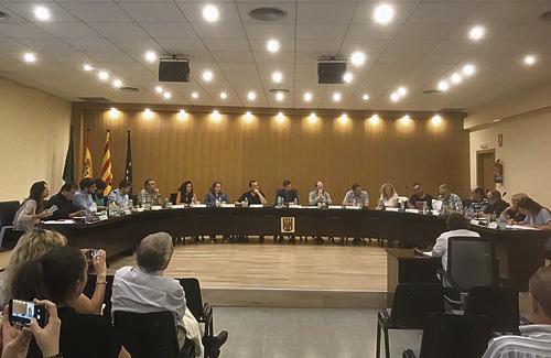 Una sessió del Ple municipal d'Abrera. Foto: Ajuntament