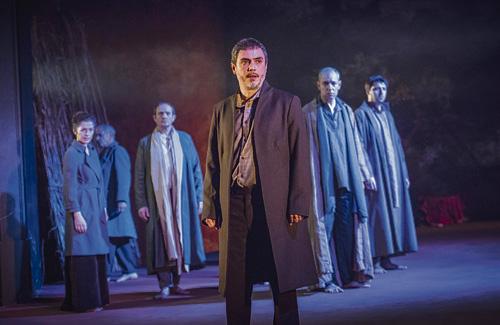 Manrique arriba a l'Auditori amb la tragèdia grega Èdip