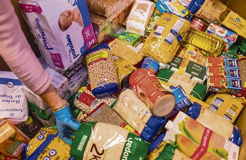 El Gran Recapte d'Aliments recull 35 tones de menjar