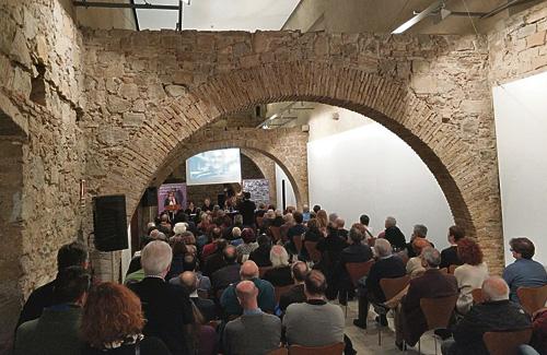 El Castell de la ciutat va acollir la presentació del llibre. Foto: Aigües de Barcelona