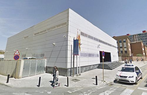Imatge de la comissaria de Mossos d'Esquadra. Foto: Google Maps
