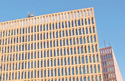 Edificis de la Ciutat de la Justícia. Foto: Arxiu
