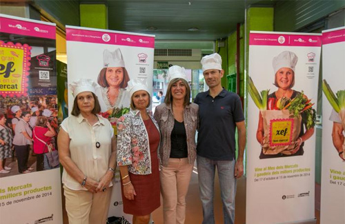 El Mes dels Mercats posarà èmfasi en la gastronomia. Foto: Ajuntament