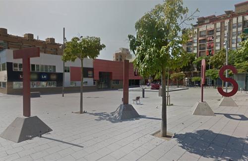 La plaça Francesc Macià serà l'epicentre de l'acte. Foto: Google Maps