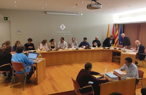 El Ple va aprovar el pressupost sense vots en contra. Foto: Ajuntament