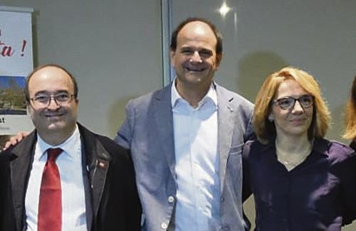 Perpinyà liderarà de nou la llista del PSC a Sant Just