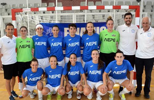 L'equip viu un moment dolç. Foto: Jose Carrera / AEPE