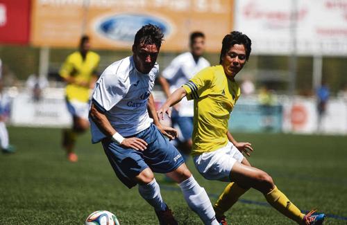 L'empat va ser un mal resultat per als dos equips. Foto: Alex Gallardo / UEC