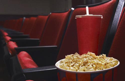Els botiguers de Premià conviden els seus clients al cinema. Foto: Arxiu