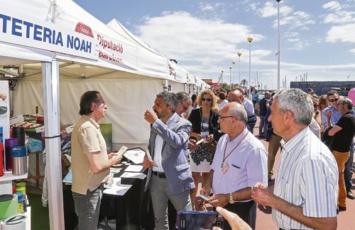 La fira és una activitat consolidada al Masnou. Foto: Federació del Comerç, Indústria i Turisme