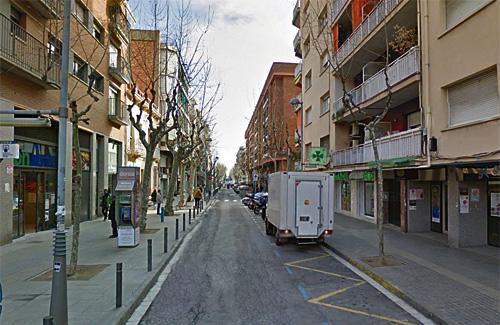 Els comerciants s'oposen a la reforma. Foto: Google Maps