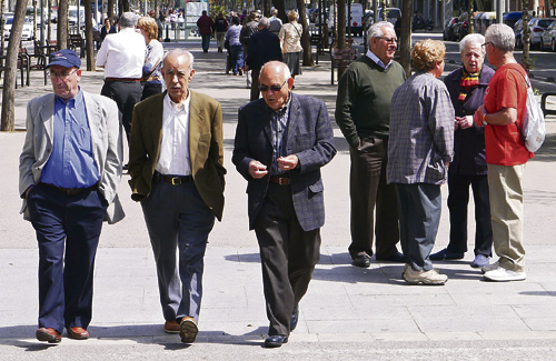 L'esperança de vida de les dones és més gran que la dels homes. Foto: Ajuntament