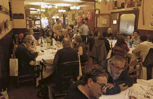 El sopar de nadal es va fer el 23 de novembre. Foto: Creu Coberta
