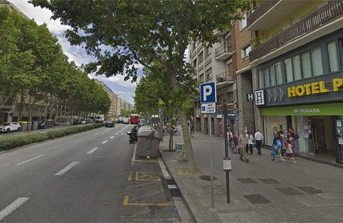 El Paral·lel és una avinguda emblemàtica de la ciutat. Foto: Google Maps