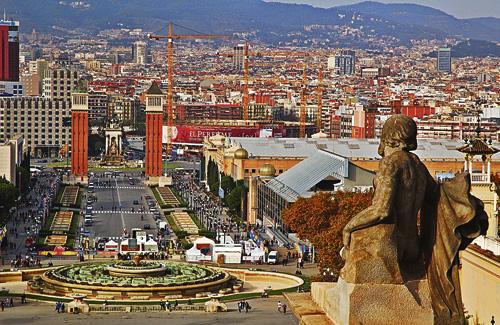 El nombre de turistes que visiten la ciutat segueix creixent. Foto: Arxiu
